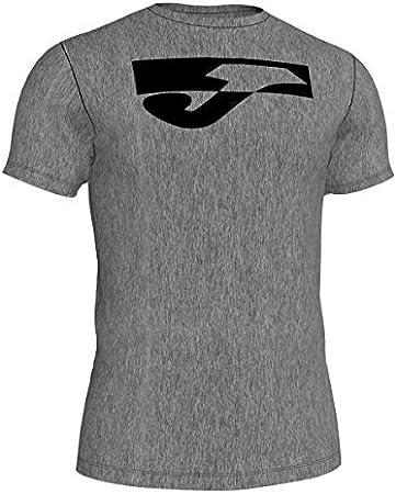 Joma Monsul (CAM C. Red Alg Liso M/C) Camisetas, Hombre, Gris ...
