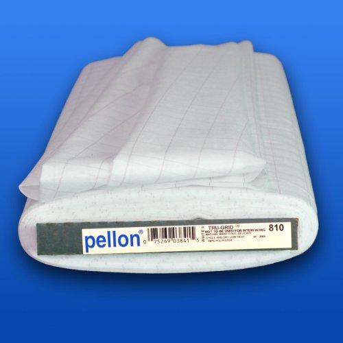 Pellon Tru-Grid Graph Material, 45-Inch by 25-Yard, - Graph Fabric Grid