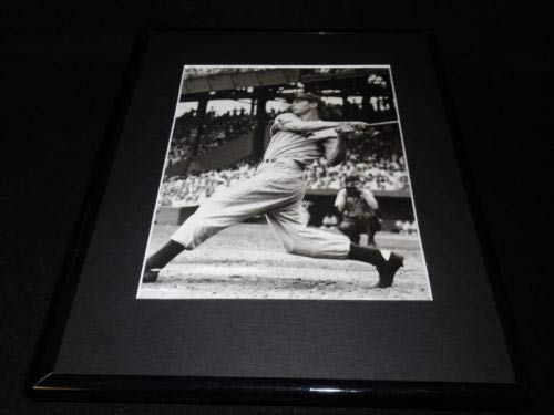 - Joe Dimaggio Framed 11x14 Photo Display Yankees The Swing