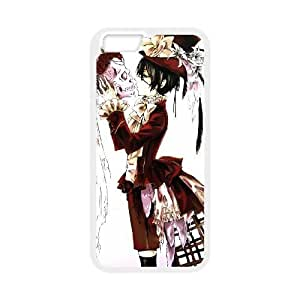 iPhone 6 Plus 5.5 Inch phone case White Black Butler MMWW7120100
