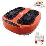 POWER LEGS ORIGINAL + 3 Cremas mini de regalo. Ejercitador de piernas Power Legs by Power Fit . (Incluye 4 piezas: 1 Power Legs Original, 1 loción para pies, 1 gel para piernas y prevención de várices y 1 pomada de caléndula y árnica)