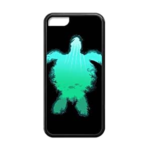 Canting_Good Sea Turtle Custom Case Shell Skins for iPhone 6 plus (5.5) TPU (Laser Technology)