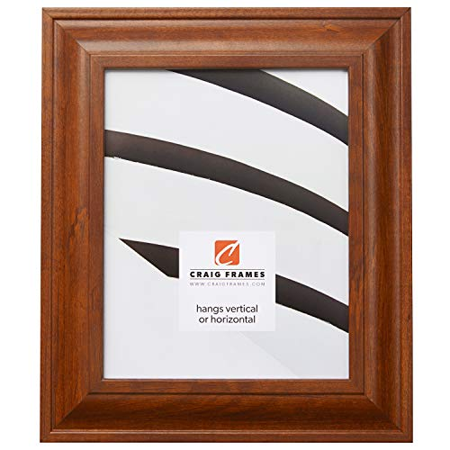 Craig Frames 76031 24 by 36-Inch Picture Frame, Smooth Wood Grain Finish, 2-Inch Wide, Rich Walnut ()