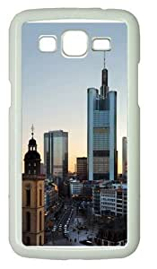 Frankfurt Skyscrapers Polycarbonate Hard Case Cover for Samsung Grand 2/7106 White