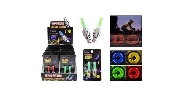 Amazon.com : Diamond Visions 08-2124 2PC Tire Valve Light in ...