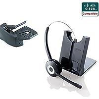 Cisco Compatible Jabra Pro 920 Cordless Headset EHS Bundle | Cisco phones: 6945, 7841, 7861, 7962g, 7965g, 7975g, 8811, 8841, 8845, 8851, 8861, 8865 (Lifter)