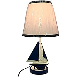 Creative Motion Kid's Lamp with Sail Boat