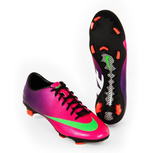 Image of the Nike Trainers Shoes Mens Mercurial Veloce Fg Purple