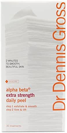 Dr. Dennis Gross Skincare Alpha Beta Daily Face Peel, Extra Strength, 30 Packettes