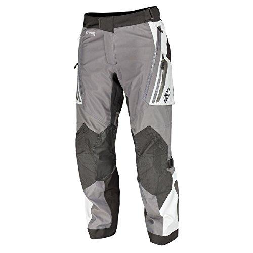 Klim Badlands Pro Men's Street Motorcycle Pants - Gray / 38