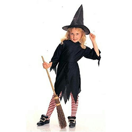 Classic Witch Child Costume and Hat Size Small (Sequin Adult Cop Hat)