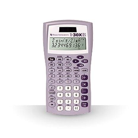 Texas Instruments TI-30X IIS 2-Line Scientific Calculator, Rasberry 30XIIS/TBL/1L1/AQ