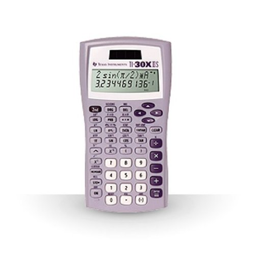 TI-30X IIS 2-Line Scientific Calculator, Lavender