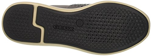 Geox Dark A Grey D Women's OPHIRA Sneakers R1RwZvUx