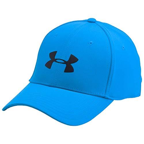 d4c9471da04 Under Armour Men s UA Storm Headline Cap Mako Blue Black Hat ...