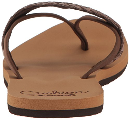 37 Brown EU 5 Marrón Mujer Sandalias para Cushion Reef Wild HUwzqYx0