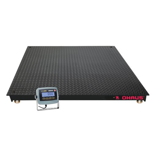 Ohaus ABS NTEP Certified VN Economical Floor Scale, 5000lbs x 1lbs, 4' Length x 4' Width Platform
