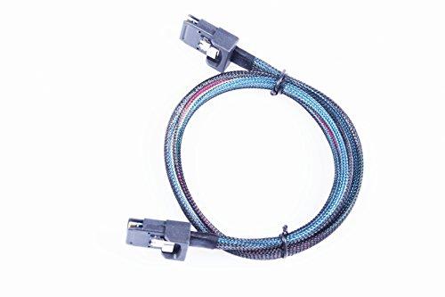 KNACRO Internal Mini-SAS to Internal Mini-SAS Cable SFF-8087 36Pin 1.64ft(0.5m) Server cable by KNACRO