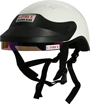 G-Force 4412SMLWH Pro White Small Crew Helmet