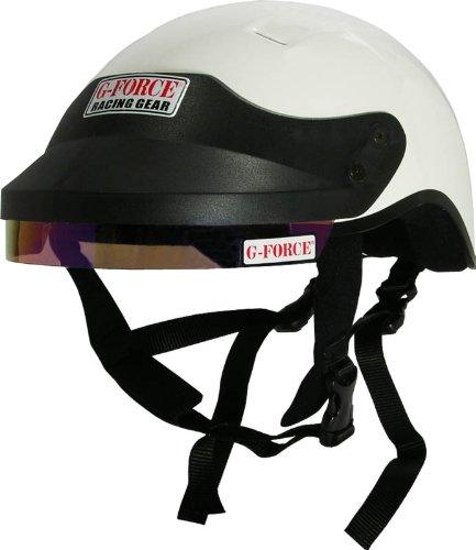 G-Force 4412XLGWH Pro White X-Large Crew Helmet
