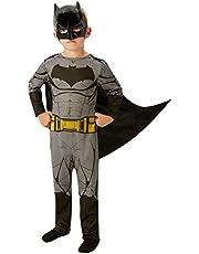 """Rubie's Hoogwaardig Batman-kinderkostuum, officieel """"DC Justice League""""-gelicentieerd product"""