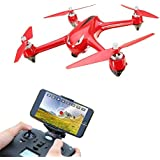 LOHOME B2W Bugs 2 W RC Quadcopter - 2.4GHz 6-Axis Gyro 1080P HD 5G Wifi Camera FPV Drone Remote Control Drone, Long Range Drone With GPS, Altitude Hold, Headless mode and Return to Home
