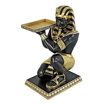 Amazon.com: Design Toscano del Faraón Egipcio de rodillas ...