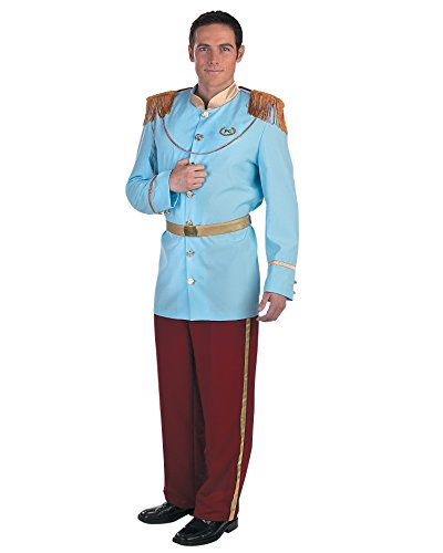 [Men's Costumes Prince Charming Costume Storybook Fairytale Cinderella Disney] (Storybook Prince Adult Mens Costumes)