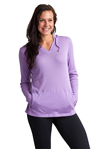 ExOfficio Women's BugsAway Lumen Lightweight Pullover Hoody- Insect, Tick, Mosquito Repellent Permethrin Clothing Resistant Clothes