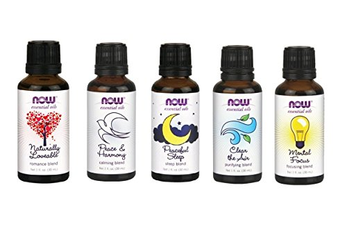 Now Essential Oils Blend Pack