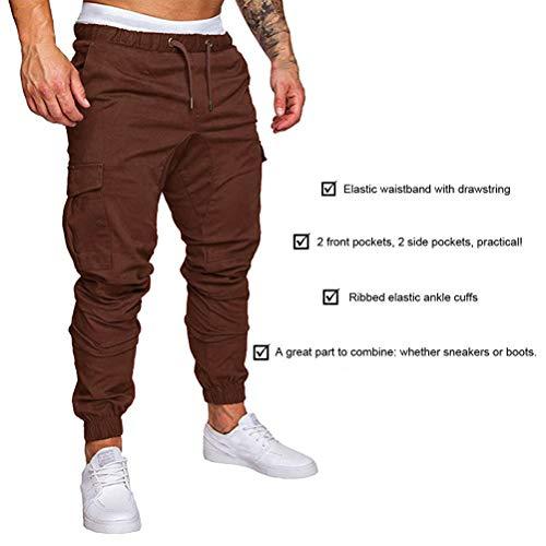 Chino Minetom Mode Running Sport Jogging Slim Automne Pants Legging Homme Casual Gym Café Cargo Été De Fitness Training Pantalons rq76r
