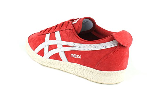 Onitsuka Tiger Mens Mexico delegation Fashion Sneaker Red/White dA57YdxU0e
