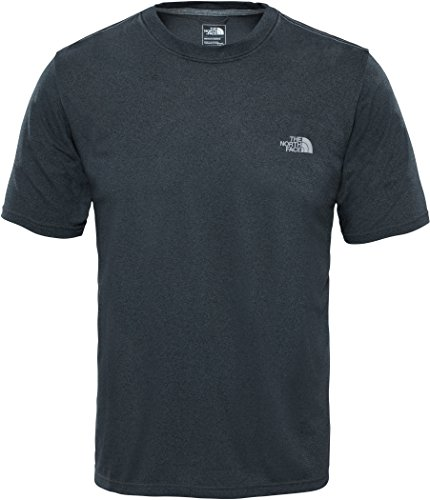 The North Face S/S Reaxion ampere Crew TNF Dark Grey Heather SS 2018-S