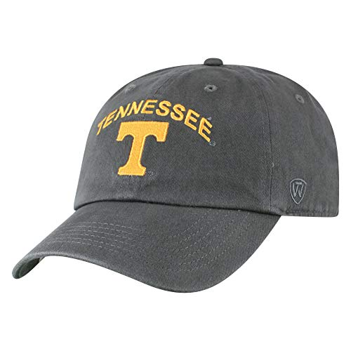 Top of the World NCAA Mens Hat Adjustable Relaxed Fit Charcoal Arch