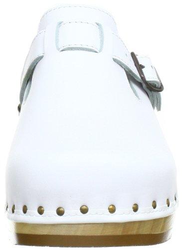 Chaussures Toeffler adulte Weiß Blanc mixte Riemen 00402 Berkemann TgB8a