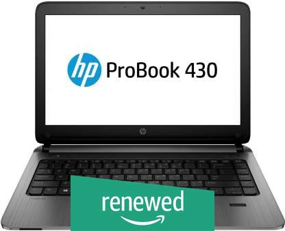 (Renewed) HP ProBook 430 G3 Laptop (Core i5 6th Gen/4GB/256GB SSD/WEBCAM/13.3″/DOS)