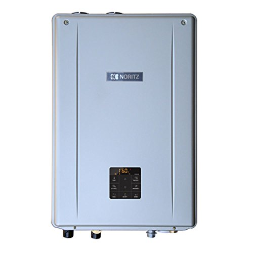 Efficiency Gas Boiler High - Noritz NRCB199DV-NG Indoor Direct Combination Boiler (Standard Vent Convertible) with Built-in Pump, max 199,900 DHW, 11.1 Gpm, 120,000 Btuh Space Heating-Natural Gas