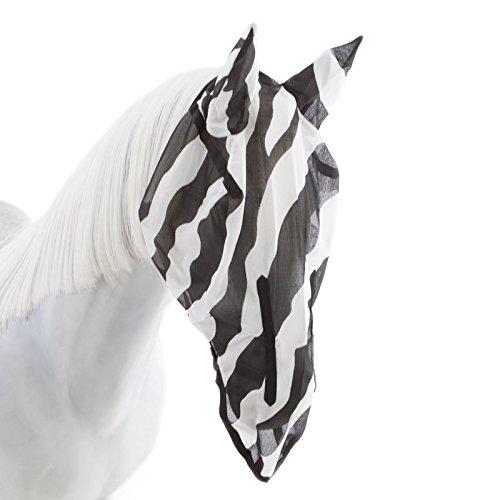 Fliegenmaske Bucas Buzz-Off Fly Mask zebra