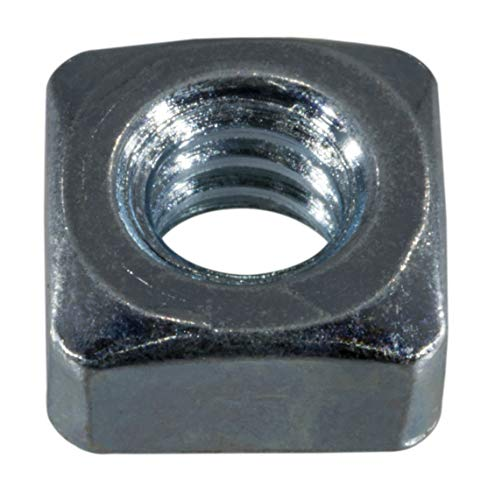 Hard-to-Find Fastener 014973314514 Coarse Square Nuts, 1/4-20, Piece-30 by Hard-to-Find Fastener
