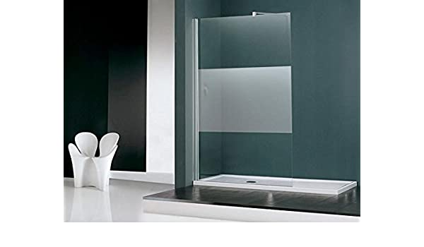 Novellini Box Pared Ducha Jade cm 120 Cristal Transparente perfiles Cromo: Amazon.es: Hogar