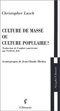 """Résultat de recherche d'images pour """"culture de masse culture populair"""""""