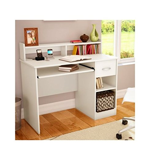 South shore study table desk furniture white in the uae for Furniture uae