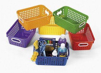 plastic baskets for classroom - 8