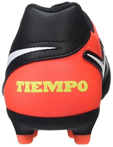 NIKE Mens Tiempo Rio III FG Black/Orange/White Size 11.5 gPfwh85