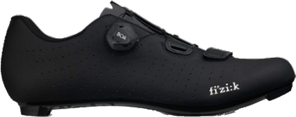 Fizik Tempo R5 Overcurve Cycling Shoe, Black/ - 44, Black/Black by Fizik