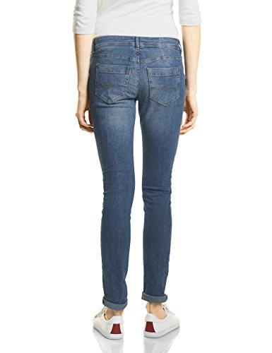 Mid Blue 11305 Femme Slim Wash One Jean Bleu Street Authentic wx1qPvARF