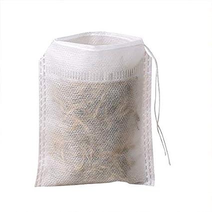 Amazon.com: SODIAL 400Pcs/Lot Lot Tea Bag S 6 X 8Cm Empty ...