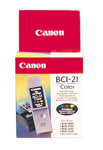 Canon BCI-21 Color Ink Tank Twin ()