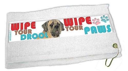 Mastiff Paw Wipe Towel by Pipsqueak