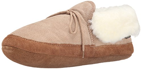 - Old Friend Women's Soft Sole Bootee Moccasin, Chestnut, Medium/9-10 M US